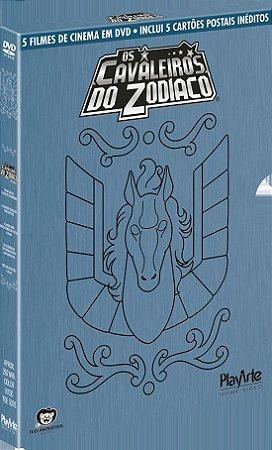 Digibook Os Cavaleiros do Zodíaco: Filmes – DVD
