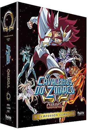 Box Os Cavaleiros do Zodíaco Ômega: 1ª Temporada Completa – Blu-ray