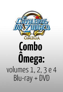 Os Cavaleiros do Zodíaco Ômega: 1ª Temporada Completa – DVD e Blu-ray