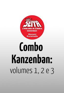 Saint Seiya – Cavaleiros do Zodíaco – Kanzenban #01, #02 e #03
