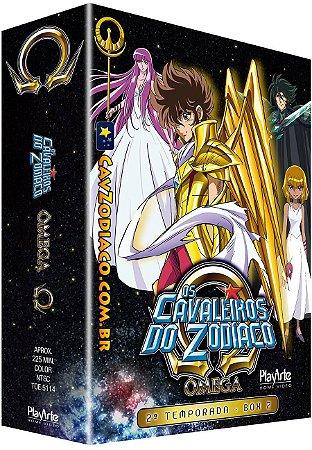Pré-venda: Os Cavaleiros do Zodíaco Ômega: 2ª Temporada – Vol. 2 – DVD