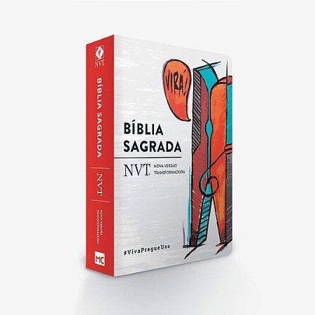 BÍBLIA NVT - VIRÁ (PREGADOR) - LETRA GRANDE