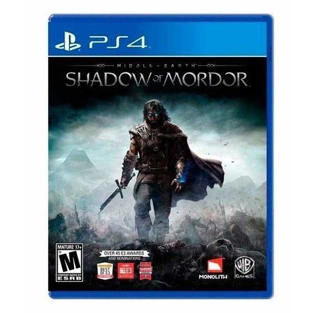 Jogo Middle-Earth: Shadow of Mordor - PS4 Mídia Física