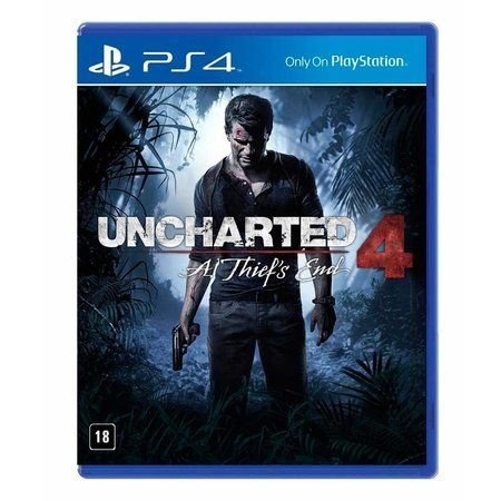Jogo Uncharted 4: A Thief's End - PS4 Mídia Física