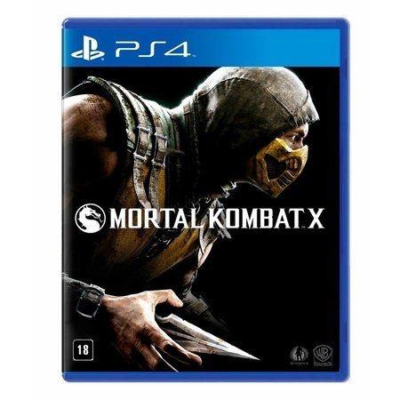 Jogo Mortal Kombat X - PS4 Mídia Física