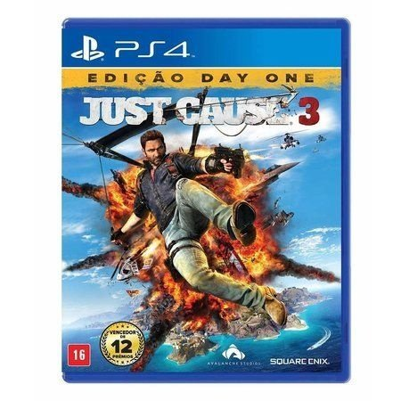 Just Cause 3 - PS4 Mídia Física