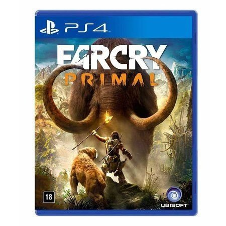 Jogo Far Cry Primal - PS4 Mídia Física
