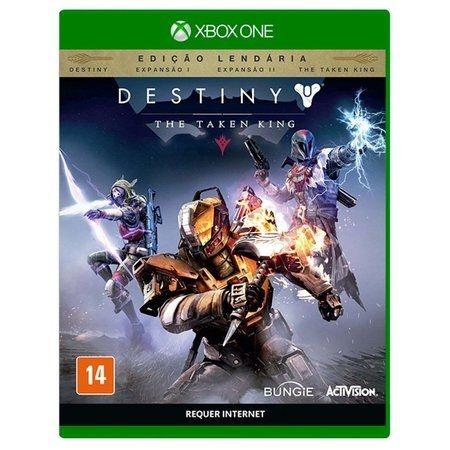 Jogo Destiny: The Taken King (Edição Lendária) - Xbox One Mídia Física