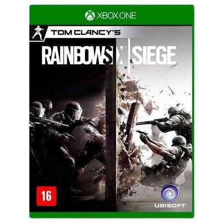 Jogo Tom Clancly's: Rainbow Six Siege - Xbox One Mídia Física