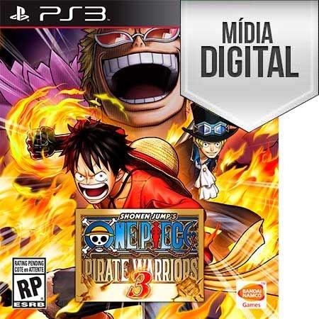 One Piece: Pirate Warriors 3 - PS3 Mídia Digital