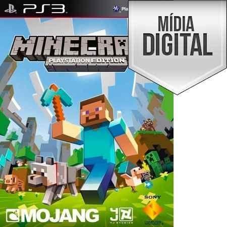 Jogo Minecraft - PS3 Mídia Digital