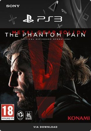Metal Gear Solid V: The Phantom Pain - PS3 Mídia Digital