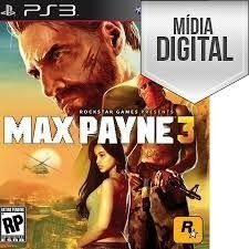 Max Payne 3 - PS3 Mídia Digital