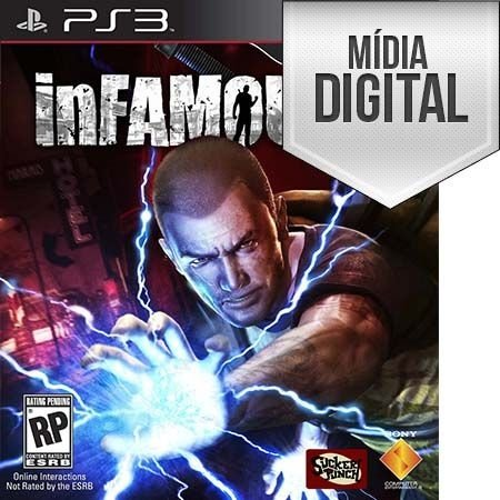 InFAMOUS 2 - PS3 Mídia Digital