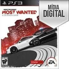 Jogo Need for Speed Most Wanted - PS3 Mídia Digital
