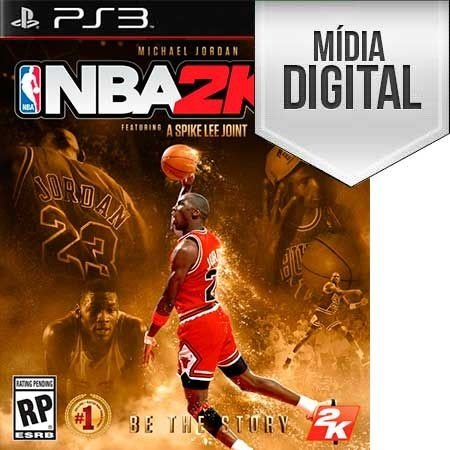 NBA 2K16 - PS3 Mídia Digital
