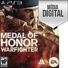 Medal of Honor: Warfighter Ps3 Mídia Digital