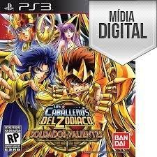 Jogo Cavaleiros do Zodíaco: Bravos Soldados - PS3 Mídia Digital