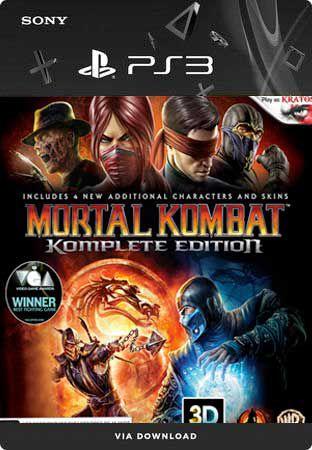 Jogo Mortal Kombat (Komplete Edition) - PS3 Mídia Digital