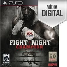 Jogo Fight Night Champion - PS3 Mídia Digital