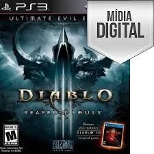 Jogo Diablo lll: Reaper of Souls (Ultimate Evil Edition) - PS3 Mídia Digital