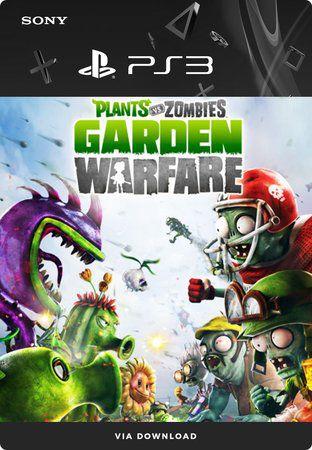 Plants vs. Zombies: Garden Warfare - Ps3 Mídia Digital