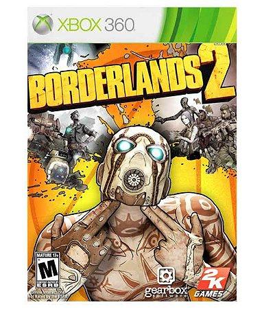 Borderlands 2  Xbox 360 Código 25 Dígitos Mídia Digital