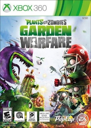 Jogo Plants vs. Zombies: Garden Warfare - Xbox 360 Código Mídia Digital