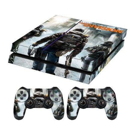 Skin Capa Playstation 4  Adesivo Tom Clancy's The Division Ps4