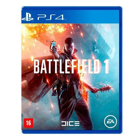 Battlefield 1 Bf1 Ps4 Playstation 4 Português Midia Fisica