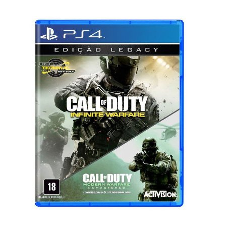 Call of Duty: Infinite Warfare (Legacy Edition) - PS4 Português Mídia Física