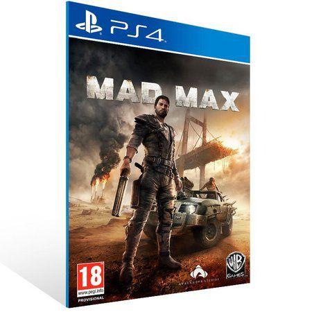 MAD MAX PS4 -MÍDIA DIGITAL CÓDIGO 12 DÍGITOS