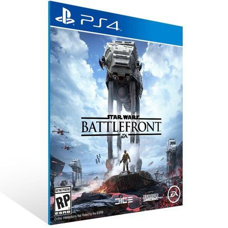 STAR WARS BATTLEFRONT PS4 - MÍDIA DIGITAL CÓDIGO 12 DÍGITOS