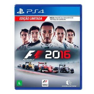 Formula 1 2016 - PS4 Mídia Física Português