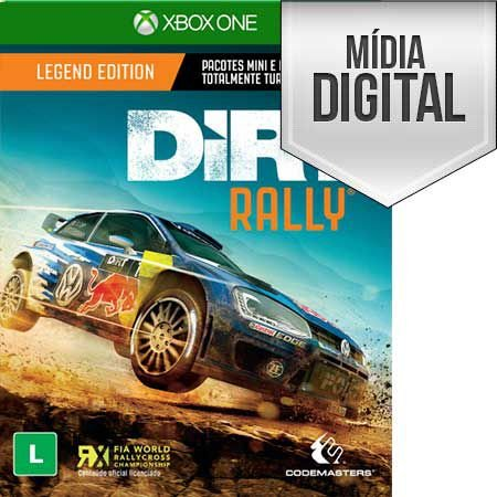 DiRT Rally Xbox One Mídia Digital