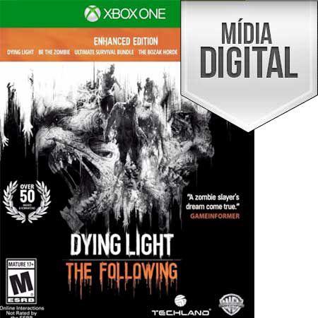 DYING LIGHT: THE FOLLOWING - ENHANCED EDITION XBOX ONE- MÍDIA DIGITAL
