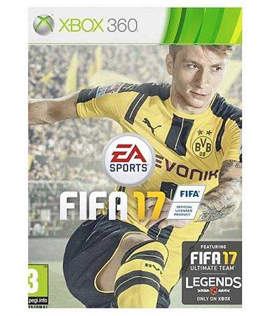 FIFA 17 Xbox 360 Código 25 Dígitos Mídia Digital