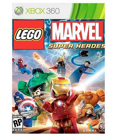 LEGO Marvel Super Heroes Xbox 360 Código 25 Dígitos Mídia Digital