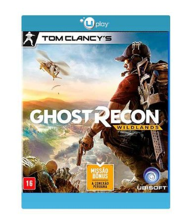 Tom Clancy's Ghost Recon Wildlands UPLAY CD-KEY Código Digital