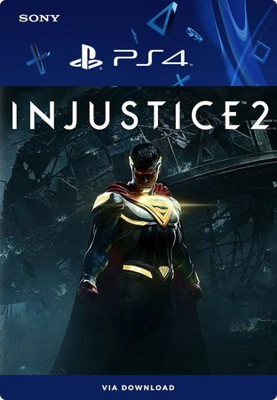 Injustice 2 Legendário Edition PS4  Mídia Digital Primária Original