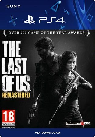 THE LAST OF US REMASTERIZADO PS4 MÍDIA DIGITAL
