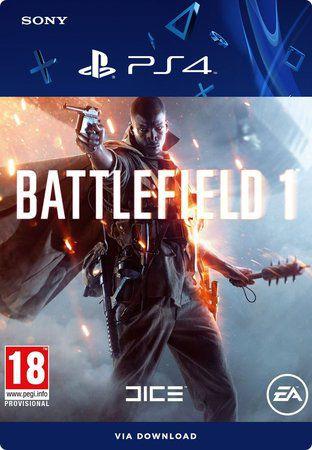 BATTLEFIELD 1 PS4 - MÍDIA DIGITAL