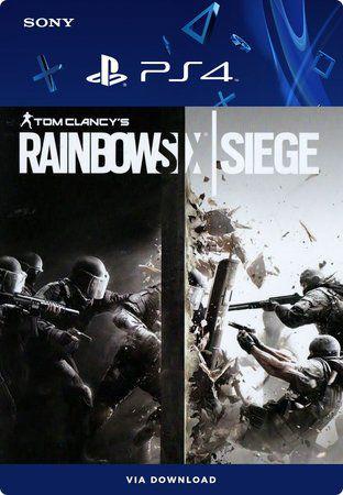 Tom Clancy's Rainbow Six Siege PS4 Mídia Digital
