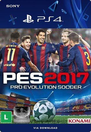 PES 2017 - Pro Evolution Soccer PS4  Mídia Digital