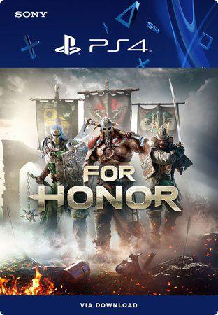 For Honor PS4 Mídia Digital