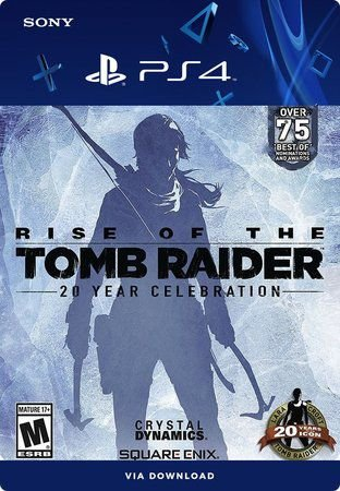 Rise of the Tomb Raider 20 Year Celebration Ps4 Mídia Digital