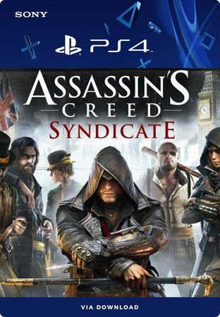 Assassin's Creed Syndicate Ps4 Mídia Digital Primária