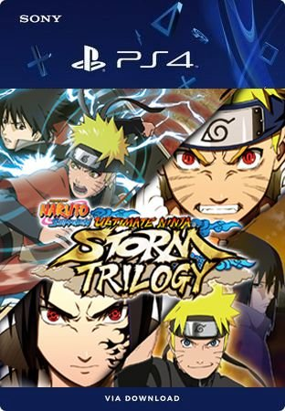 NARUTO SHIPPUDEN ULTIMATE NINJA STORM TRILOGY PS4  MÍDIA DIGITAL