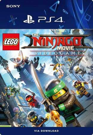 LEGO NINJAGO Movie Video Game PS4 Mídia Digital