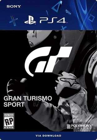 Gran Turismo Sport PS4 Mídia Digital